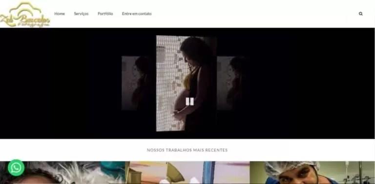 Desenvolvimento de site zeli barcelos