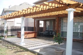 pergola - landscaping ideas