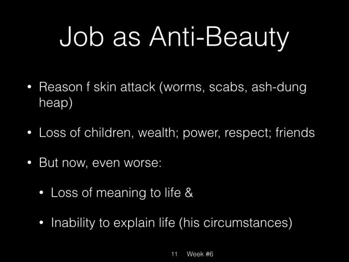 Book of Job, Week #6.011