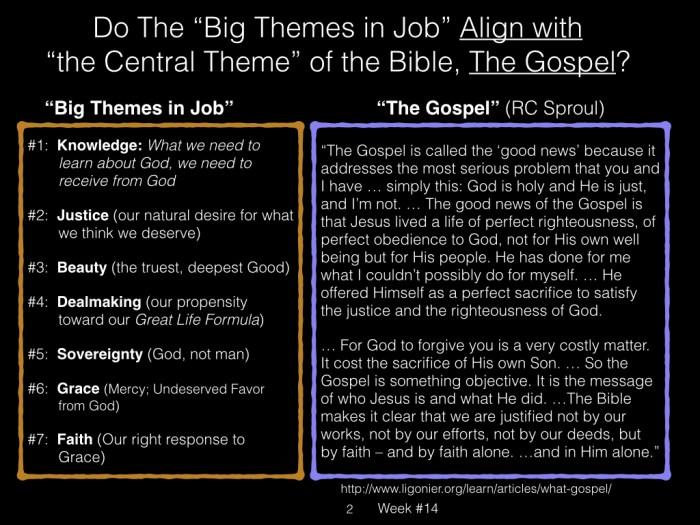 Book of Job, Raz, Week #14.002
