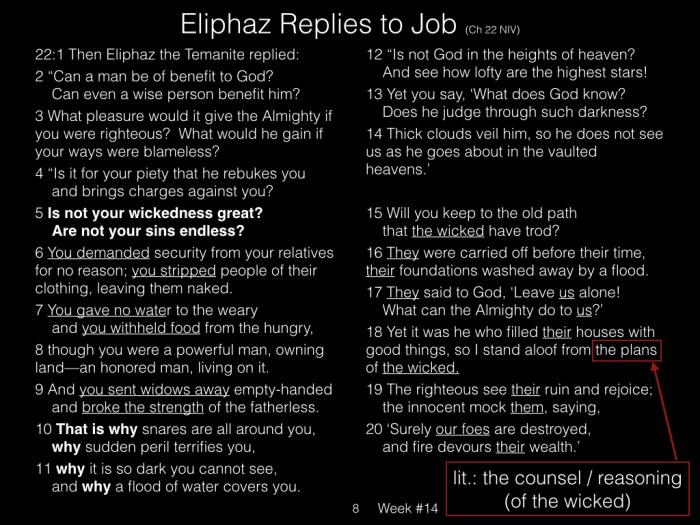 Book of Job, Raz, Week #14.008