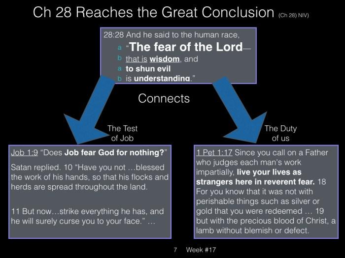 Book of Job, Raz, Week #17.007