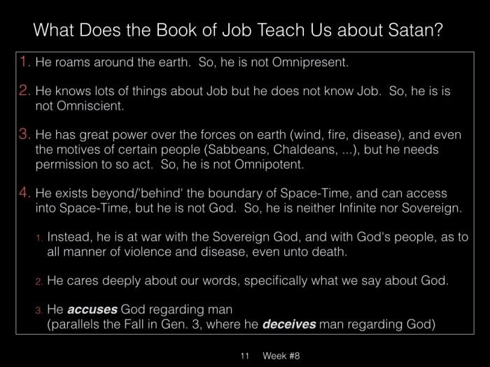 Book of Job, Week #13 LB.011