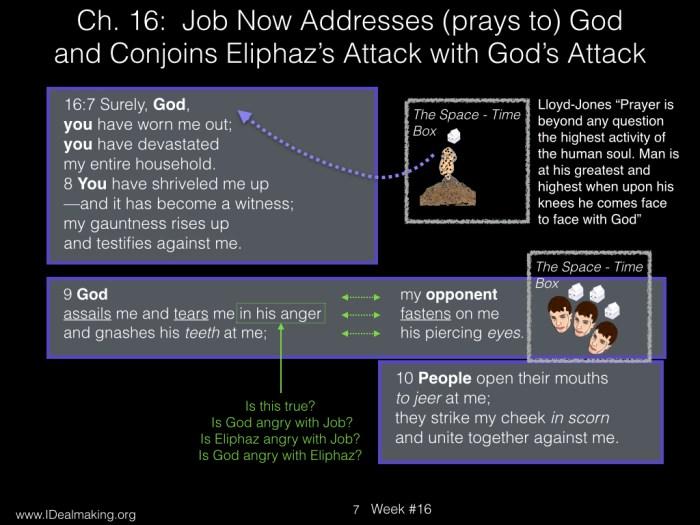 Book of Job, Week #16 LB.007
