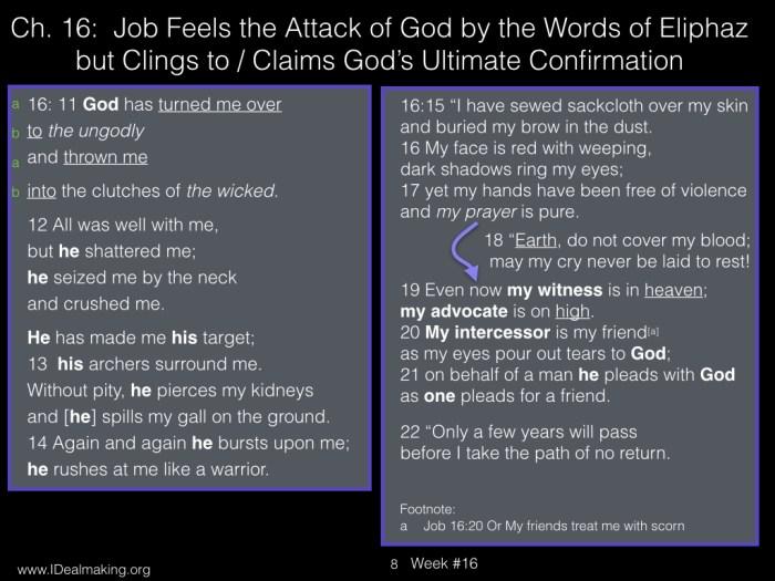 Book of Job, Week #16 LB.008