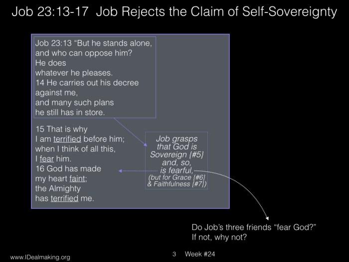 Book of Job, Week #24 LB.003