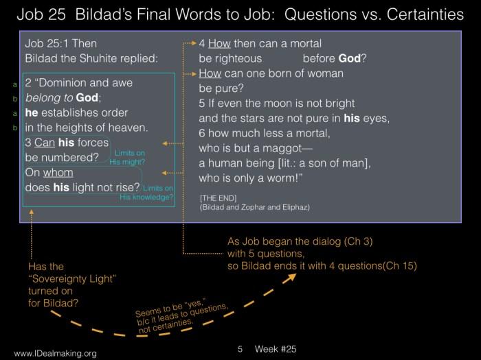 Book of Job, Week #25 LB.005