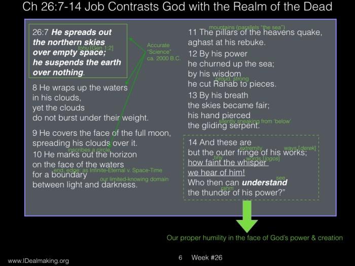 Book of Job, Week #26 LB.006