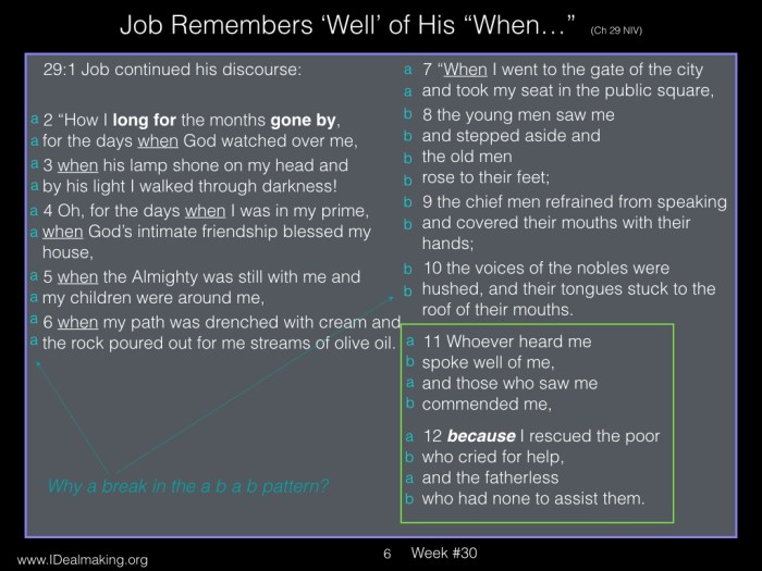 Book of Job, Week #30 LB.006