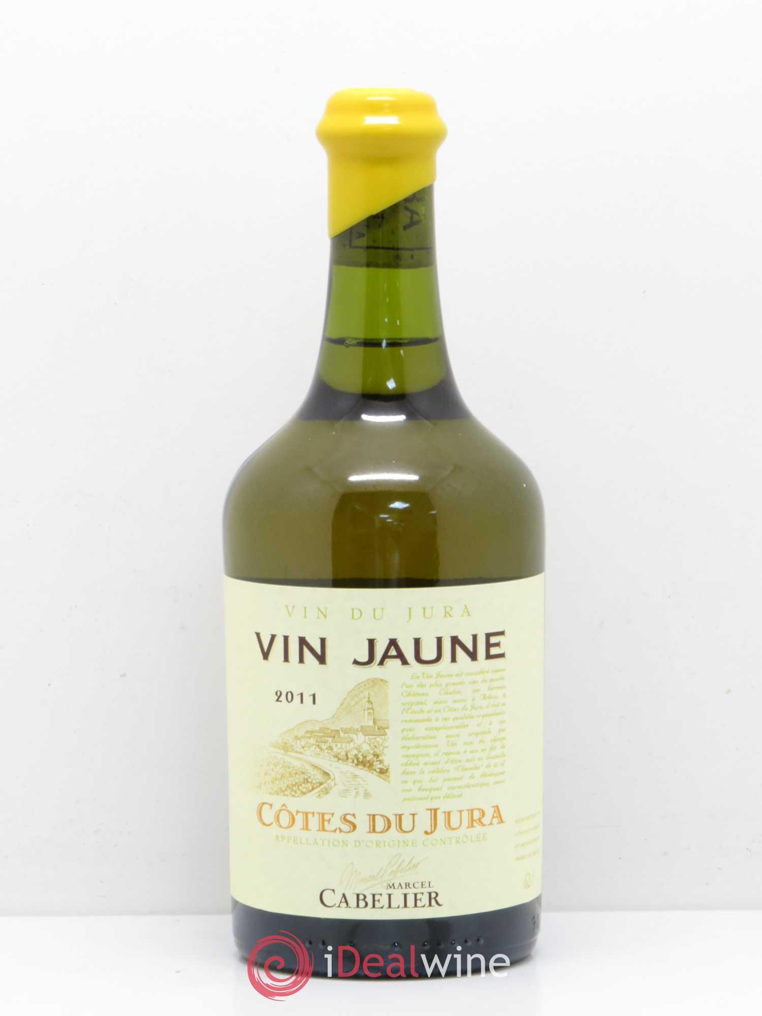 arbois vin jaune domaine marcel cabelier sans prix de reserve 2011