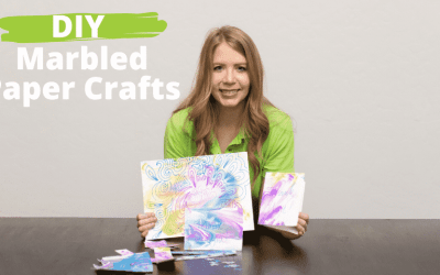 Marble paper craft ideas