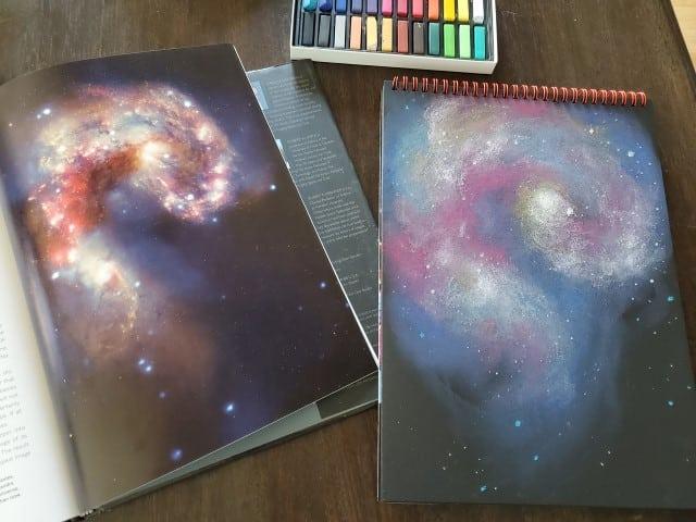 Pastel Galaxies