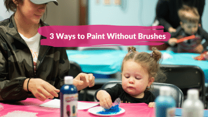 Messy Creations: 3 ways to paint