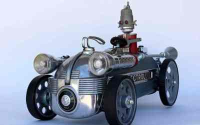 Robo Art opens July 1