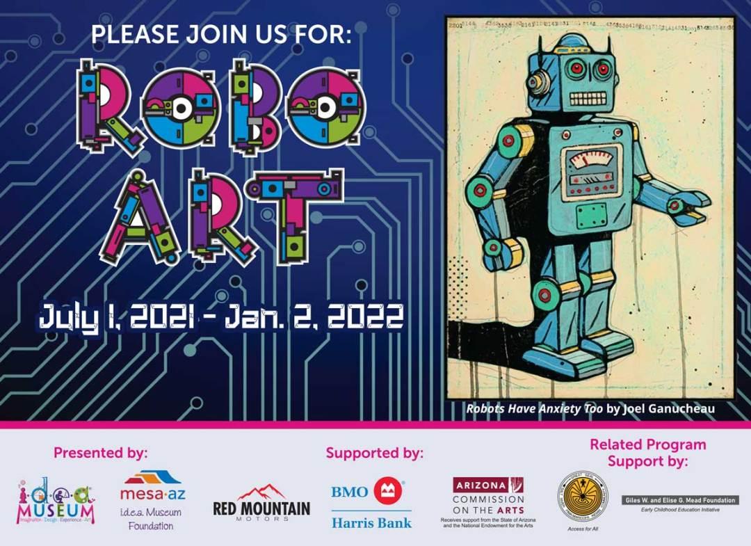 Robo Art card