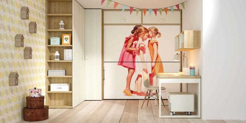 literas-camas abatibles-muebles niños