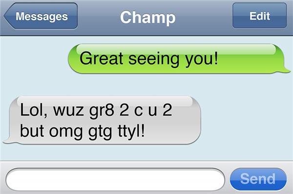 Texting Slang Translator