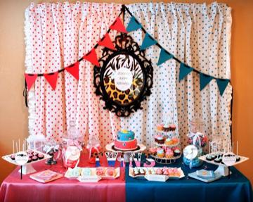 mesa dulce bicolor