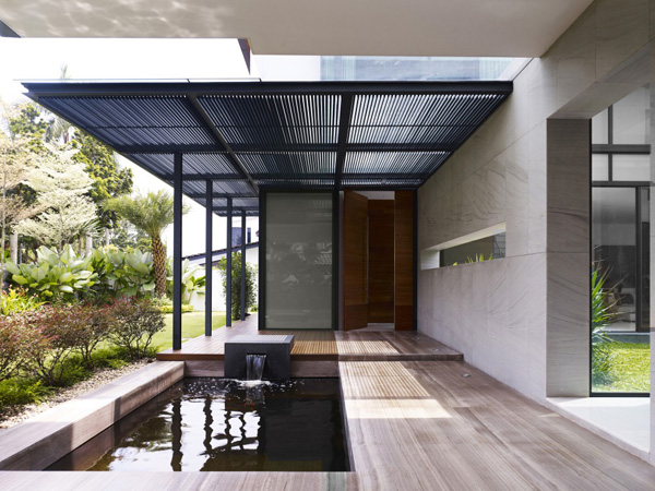 Calming Zen House Design Bringing Japanese Style Into