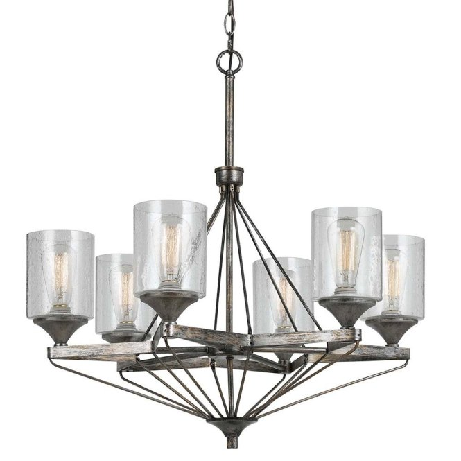 Fetching Glass Chandelier Shades With Iron Holders For Branched Lamp Inspiration