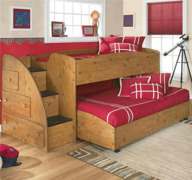 Red Pull Out Couch