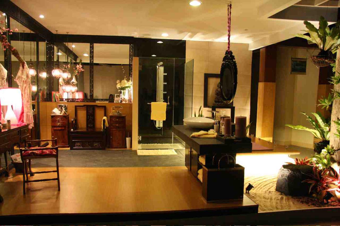 Serene Asian Interior Design For Peaceful And Elegant