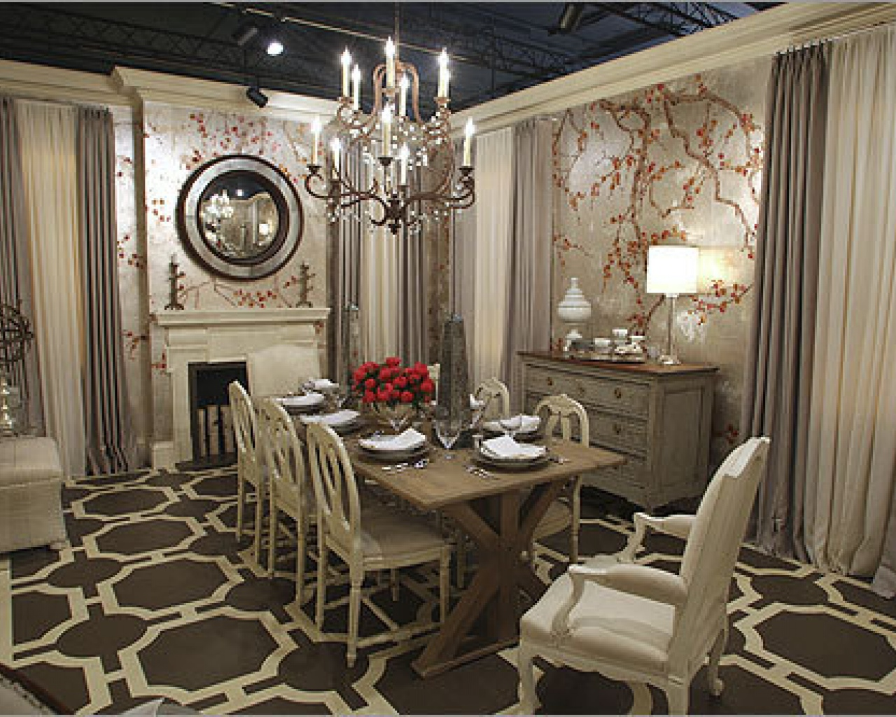 Antique Dining Room Ideas With Full Of Earthy Hues
