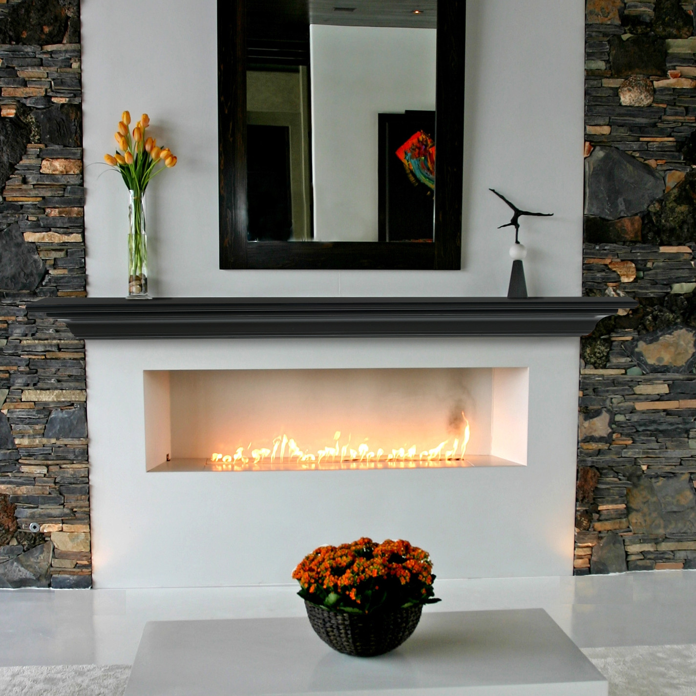 4 Types Of Fireplace Mantel Shelves To Choose From