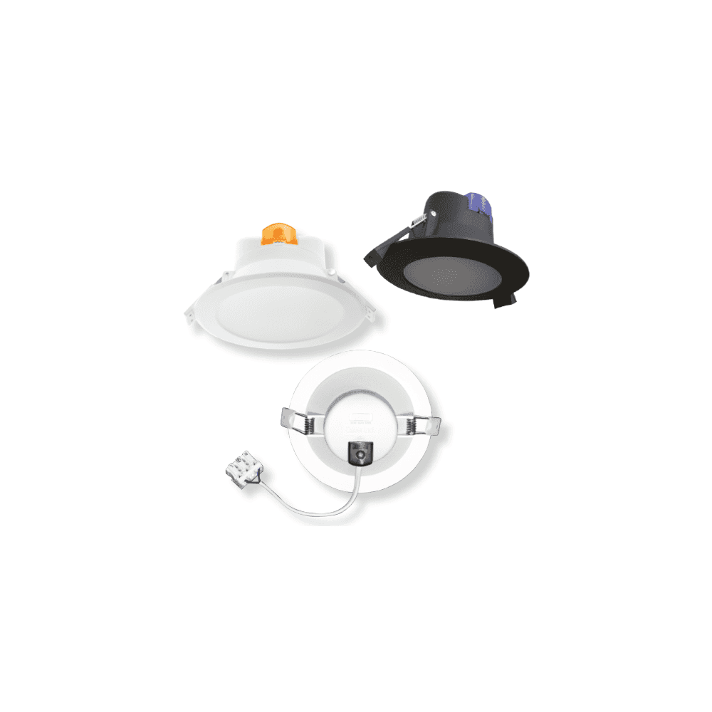 source white soffit light outdoor downlight 9w led fitting cct3 colour selectable