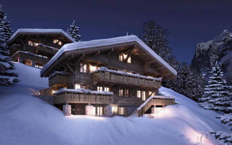 Apartments at Grindelwald, Switzerland