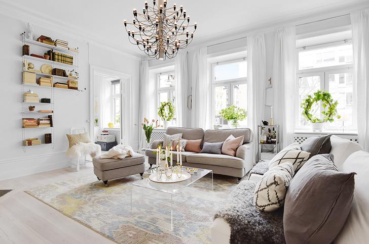 Houseplants at Scandinavian Interior