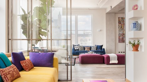 Colorful Loft in New York City