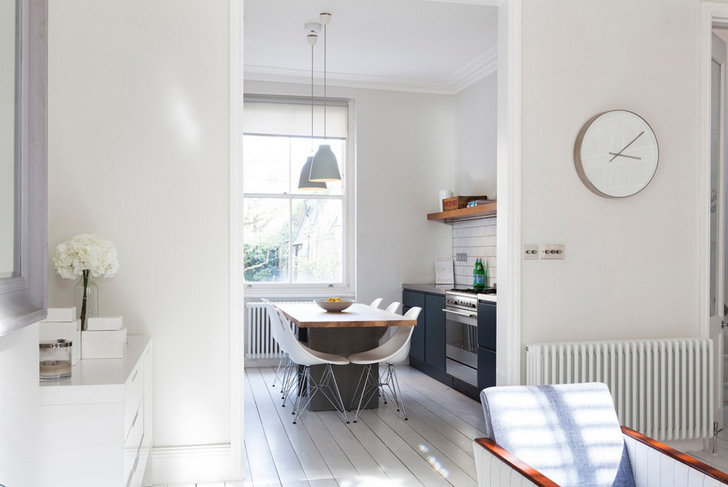 Perfectly White Apartment in London
