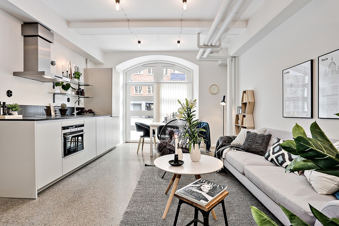 Tiny Apartment in Sweden