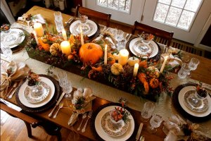 Thanksgiving Table Decoration - DIY Decor Ideas