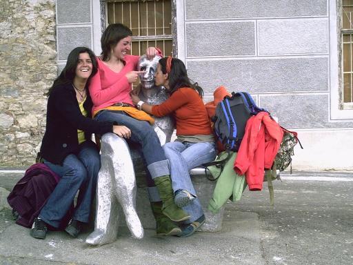 Con Irina y Laura en Croacia 2006 (Ideas on Tour)