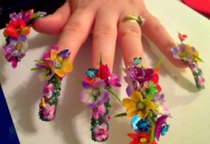 Uñas Decoradas Flores Archives Ideas Consejos