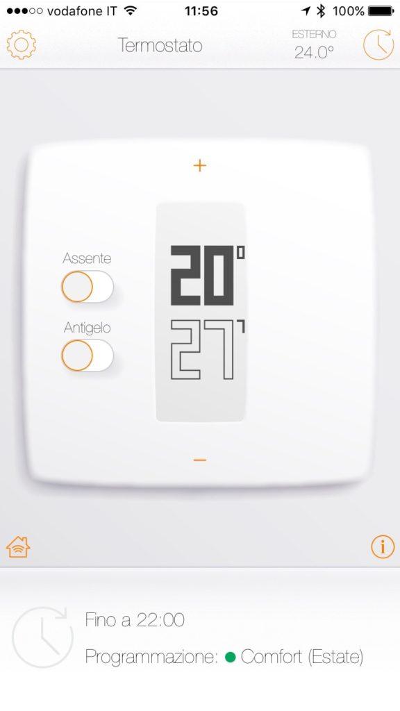 recensione termostato netatmo