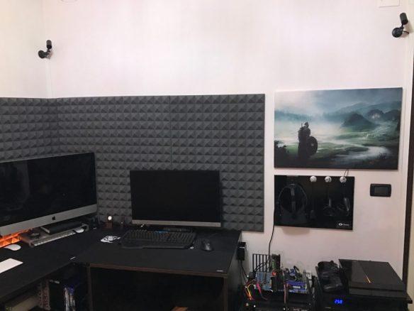 Oculus Rift con 3 sensori