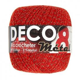 fil a crocheter deco 8 metal or