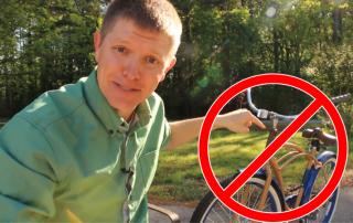 backwards bicycle