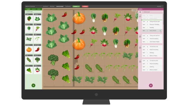 farmbot interface