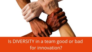 Is diversity good or bad for innovation