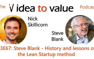 Podcast S3E67: Steve Blank - History and lessons of the Lean Startup method