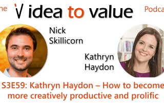 Podcast S3E59: Kathryn Haydon – How to become more creatively productive and prolific