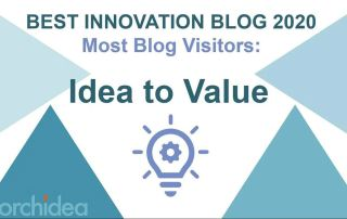 Idea to value has the most blog visitors