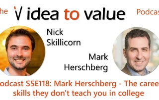 Podcast S5E118: Mark Herschberg - The career skills they don't teach you in college