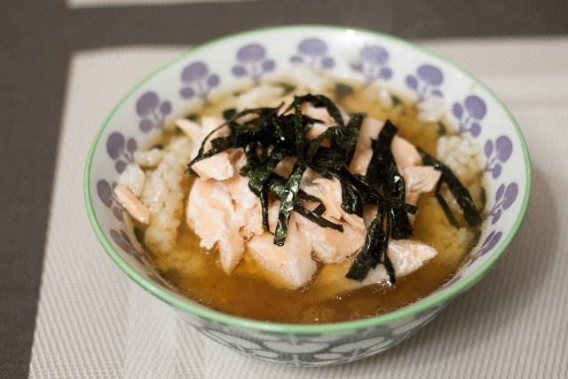 riz au thé vert
