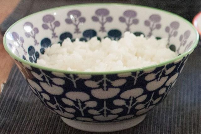 Riz cuit à la japonaise