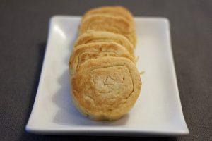 Panisses en tranches